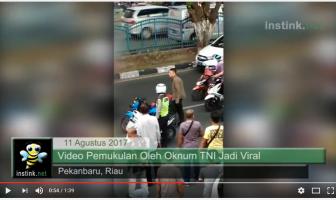 Pemukulan Polisi oleh oknum TNI
