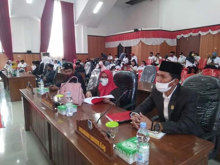 Pjs Bupati Bolsel Hi Praseno Hadi mendapat pujian dan apresiasi oleh DPRD Bolsel dalam menunaikan tugasnya di Kabupaten Bolsel.