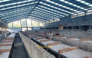 Pembangunan Pasar Modern Milangodaa Kecamatan Tomini