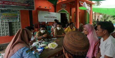 Penyintas Banjir Idap Flu dan Maag