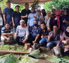 Warga Jaton di Kotamobagu Sembelih 3 Ekor Sapi untuk Hewan Qurban